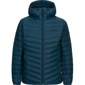 Peak Performance Frost Down Hooded - Veste Homme - Bleu pétrole